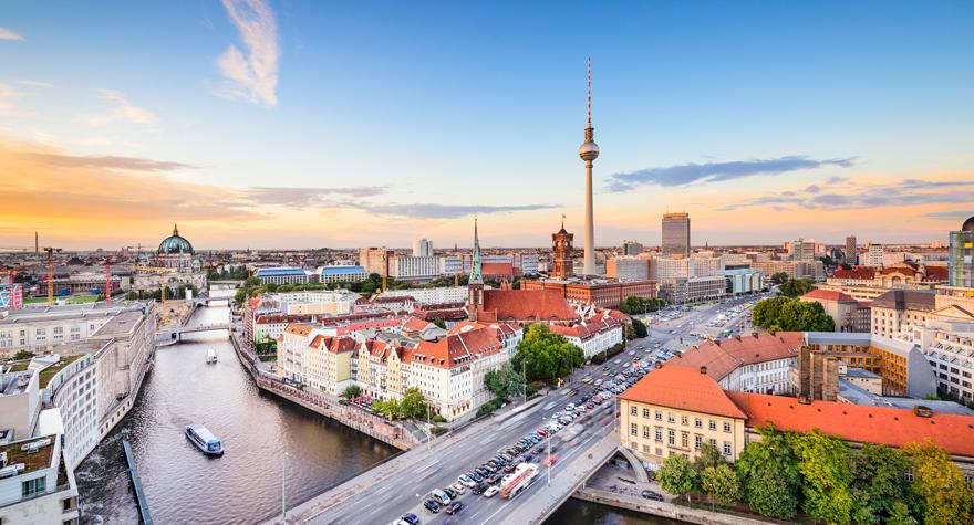 Flybilletter til Berlin