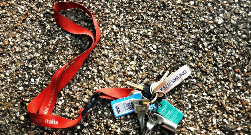 Keyhangers med tryk er en god reklame for firmaet