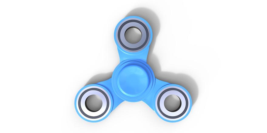 Fidget spinners er kommet til Danmark