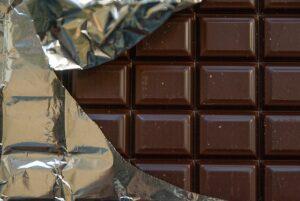 chokolade indpakket