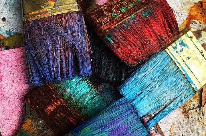 farverig maling