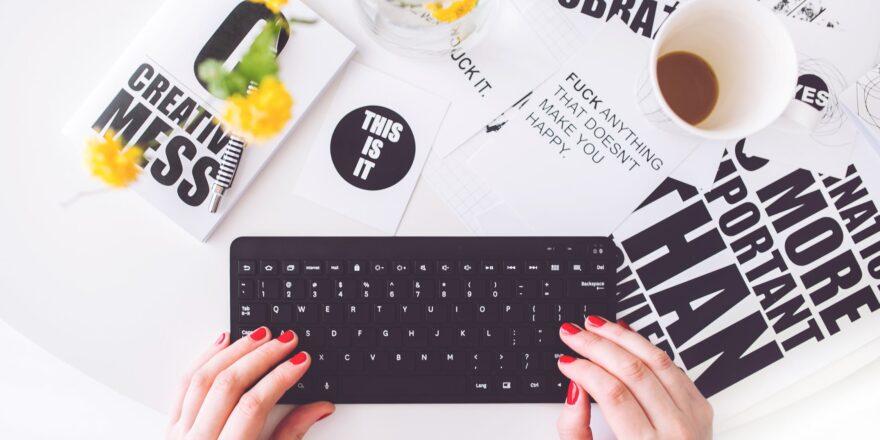Skrivning af blogindlæg